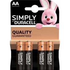 Batterie DURACELL AA Simply K4