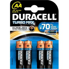 Batterie DURACELL AA Turbo Max K4