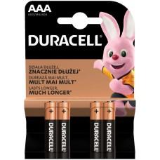 Batteries DURACELL AAA Basic K4