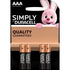 Batterie DURACELL AAA Simply K4