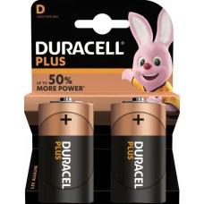 Batterie DURACELL Plus Power C K2