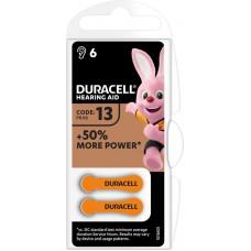 Batterie DURACELL DA13 1.4V B6