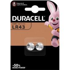Batterie DURACELL LR43 1.5V B2