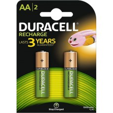 Batteries DURACELL AA Rechargeable 1300 mAh Recharge K2