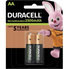 Batteries DURACELL AA Rechargeable 2500 mAh Recharge Ultra K2
