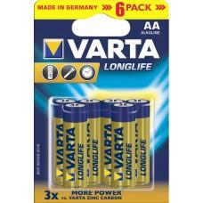 Batterie VARTA AA Longlife K6