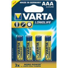 Batterie VARTA AAA Longlife K4