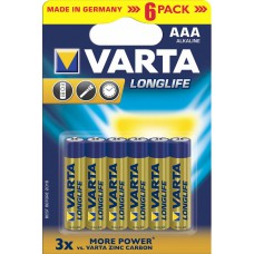 Batterie VARTA AAA Longlife K6