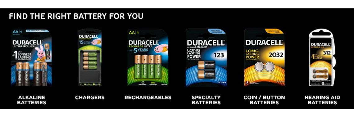 Duracell - Find the right batterie