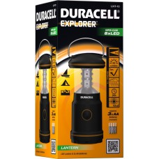 Flashlight DURACELL Explorer LNT-10 + 3xAA Baterries - LED