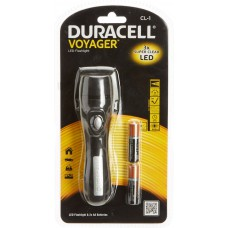 Flashlight DURACELL Voyager CL-1 + 2xAA Baterries - LED