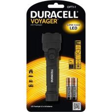 Flashlight DURACELL Voyager Opti-1 + 3xAAA Baterries - LED